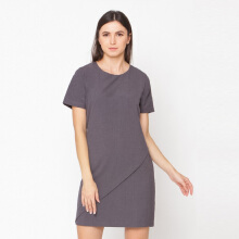 A&D Ladies Dress Feminim Ms 1024 - DK.Grey