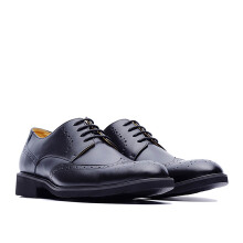 LIFE 8 Formal Leather Shoes - Black