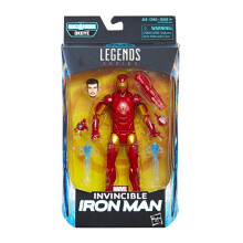HASBRO Marvel 6 Inch Legend Invincible Iron Man AVSE1576