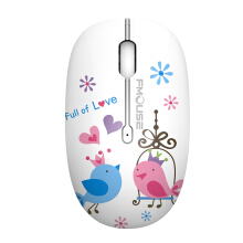 OAC M101 Painted Silent Mouse Mute Mice USB 2.4GHz Wireless Optical Gaming Mouse Cute Mice for Computer PC Laptop