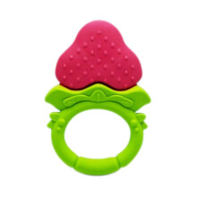 ANGE Strawberry Fruit Teether - 3 m+