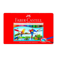 FABER-CASTELL Watercolor pencils in tin case 36L 115937