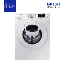 [DISC] SAMSUNG Mesin Cuci Front Loading 7.5KG WW75K5210YW [SAMSUNG ONLINE PRIORITY]