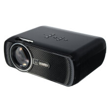 LED Digital Projector U80 1080P HD Media Player Home Theater Projector Black