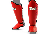 FAIRTEX Competition Shin Pads - Red SP5