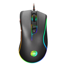 OAC E-Sports Version Programmable Mouse 4000 DPI Wired Optical Gaming Mouse Gamer For Pro Gamer Black