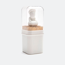 PELEG DESIGN - Babu Toothpick Guru Holder white