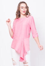 Point One DYNA Blouse - Pink