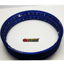 SCARLET RACING -velg motor - uk 17-160/140 type WR shape blue Others