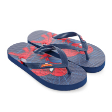 MARVEL Spider-Man Flip Flops for Kids SPDJD01– Navy Blue