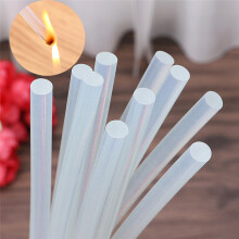 BESSKY 10X Hot Melt Glue Sticks 7*200mm For Craft Electric Heating Glue Stick _ Clear