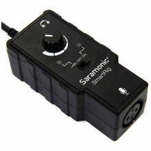 Saramonic SmartRig - XLR Microphone Audio Adapter for Smartphone Iphone