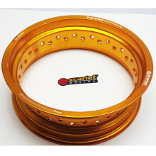 SCARLET RACING - Velg motor - uk 14-425 MT shape gold Others