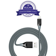 Tronsmart 19AWG Double Braided Lightning Cable 1.2M - Grey