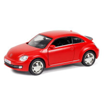 RMZ City Diecast Volkswagen New Beetle Matte 5 Inch Freewheel - 569935 - Red