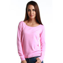 Fredperry Women -Hot Pink Round Neck Sweatshirt