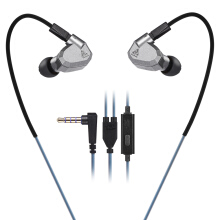 KZ ZS5 HiFi In-ear Removable Music Earphones gray
