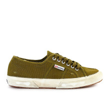SUPERGA 2750 Cotu Stonewash - Green Military