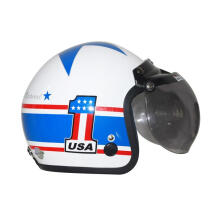 IGLOO American Star White Helmet Half Face