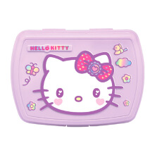 TECHNOPLAST Hello Kitty Fancy Revolution Relief Lunch Box - Ungu