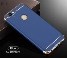 JOVEINS OPPO F5 Case 3 in 1 Electroplate Frame Matte Metal Cover for OPPO F5 Case