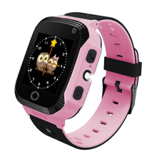 PEKY Q528 Kids GPS Smart Watch Phone With Flashlight Baby Watches SOS Call Location Device Tracker for Children Safe