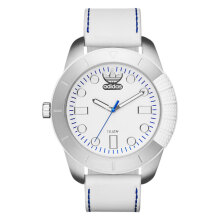Adidas Superstar White Dial Leather Strap Watch [ADH3036]