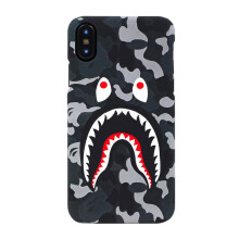 A BATHING APE 1st Camo Iphone 7/8 Case - Grey [OS] OZX EC M182074 8 GRX F