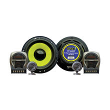 Thump TP-600C  6 2 Way Speaker Component 300W - Black