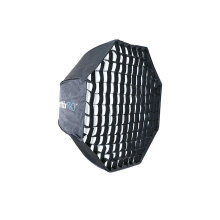 Phottix Pro Easy Up HD Umbrella Octa Softbox with Grid 80cm