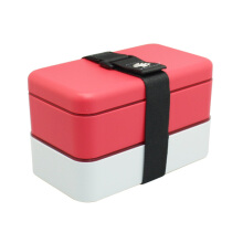 ARNISS Lunch Box Oishii Red (2x 600ml) LB-0412