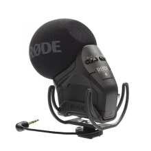 Rode Stereo VideoMic Pro Stereo On-camera Microphone Black