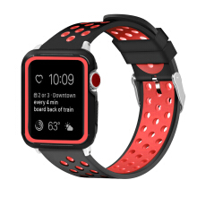 DELIVE Apple Watch 38mm Silicone Case Cover + Sports Watch Band for iWatch Series 3/2/1(not watch)