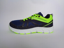 RECORD Atlanta Men Running Shoes Blue Citron