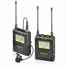 Saramonic UWMIC9 (TX+TRX Package) Wireless lavalier Microphone System