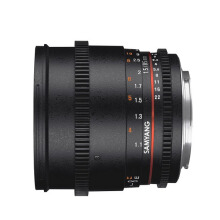 Samyang For Nikon 85mm T1.5 VDSLR II Black