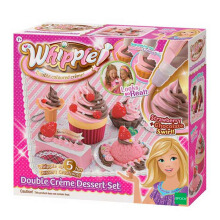 WHIPPLE Double Creme Dessert Set Choco Strawberry