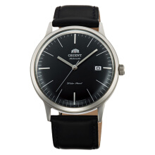 Orient Bambino Automatic 2nd Generation Version 3 Men Black Dial Black Leather Strap [FAC0000DB]