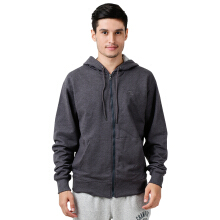 CHAMPION Powerblend Fleece Full Zip - Granite Heather
