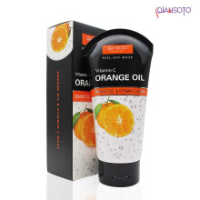 Qiansoto Orange Oil &Vitamin C 1 Mask 1 Box ( Net 100 ml )