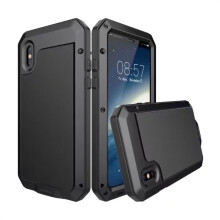 BESSKY Waterproof Shockproof  Aluminum Metal Case Cover For IPhone X_
