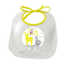Beaba Training Bibs Bunny 913405 - White Yellow