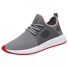 BESSKY Men Fashion Solid Cross Tied Casual Shoes Gym Shoes Running Shoes_