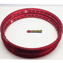 SCARLET RACING -velg motor -uk 17-160/140 type WM shape red Others