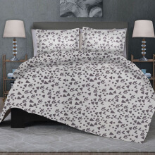 CELINA Sprei Set & Quilt Cover Single - Eros Krem - 100x200x40cm