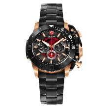 Expedition Men Dual Color Dial Ion Plating Case Stainless Steel Strap [EXF-3002-MCBBRBA]