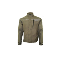 INVENTZO Alpha Urbano Series Enzo Light Alpha Jaket Motor Pria - Dark Brown