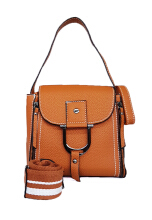 Catriona By Cocolyn Erin top handle bag - BROWN