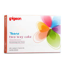 PIGEON TEENS Two Way Cake Warm Beige 14g