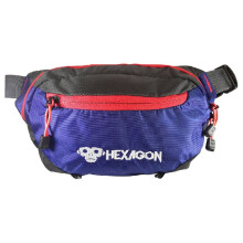 Waist Bag Hexagon HXWB01004 Biru Blue